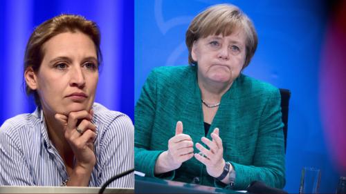 Verboten In Thuringia - Merkel's CDU Feels AfD's Heat