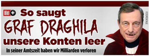 """""""Count Draghila"""": A Furious Germany Reacts To Draghi's Monetary """"Horror"""""""
