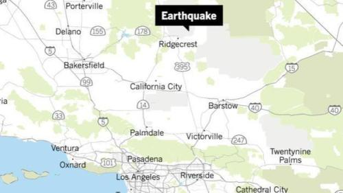 Strongest Earthquake In Decades Rocks Southern California On