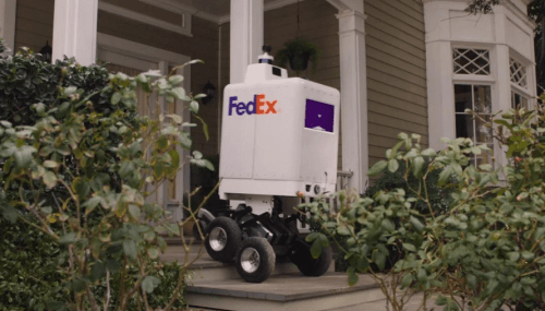 FedEx Unveils Delivery Bot, Aimed At Last-Mile Efficiencies