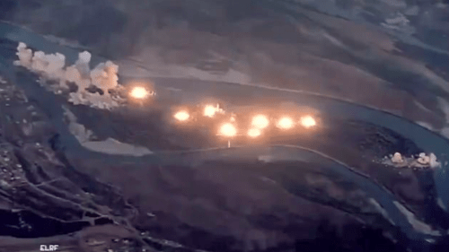 """Watch US Jets Drop 40 Tons Of Bombs On ISIS-""""Infested"""" Island In Iraq"""