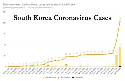 Dollar Roars, Futures Slide On Surge In New Virus Corona Cases In Japan, South Korea