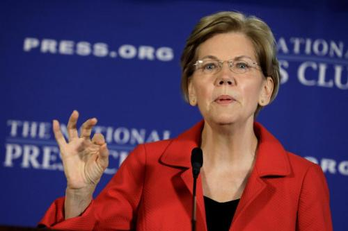 "Elizabeth Warren Whips Out ""Environmental Justice"" Plan For Poor Communities"