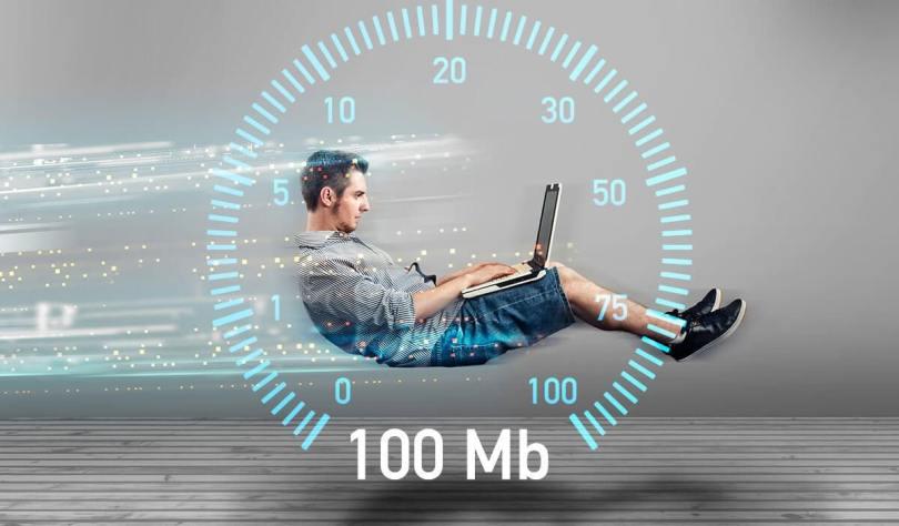 upload and download speeds in Windows 10