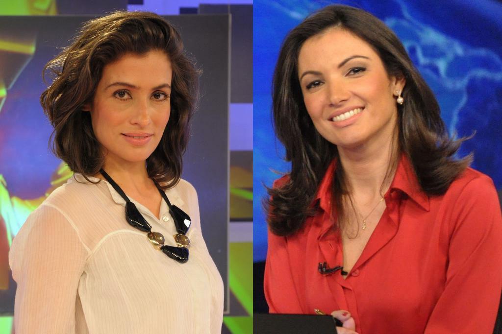 Patrícia Poeta deixará a bancada do Jornal Nacional em novembro TV Globo/Divulgação