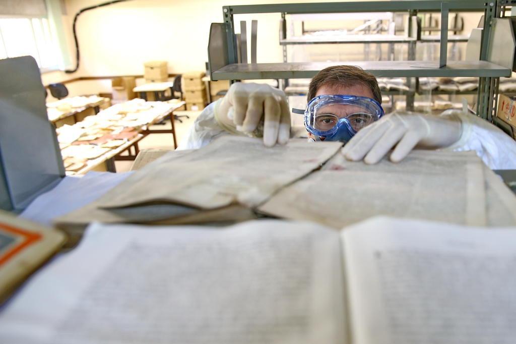 Após alagamento, UFRGS espera liberar biblioteca no Campus do Vale no início de 2015 Júlio Cordeiro/Agencia RBS