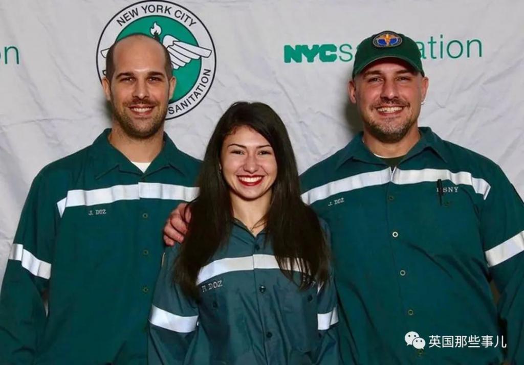 年輕的選美皇後努力了3年,終於當上了紐約環衛工!