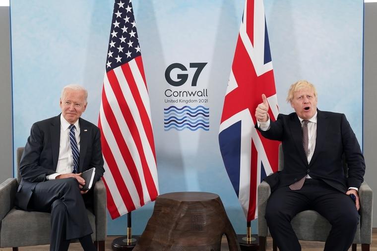 """美英簽署新""""大西洋憲章"""":聯合聲明再查中國疫情起源"""