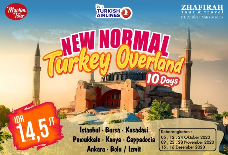 New Normal WIsata Turkey Zhafirah Umroh
