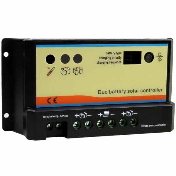 Dual Battery Solar Panel Charge Controller 1
