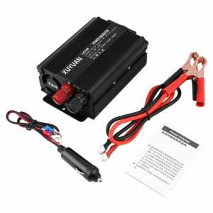 Professional 600W USB Power Inverter DC 12V to AC 220V with LED Indicator Car Converter for Household Appliances 9