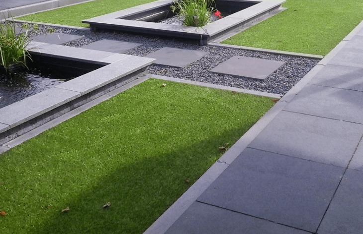kunstgras-in-tuin