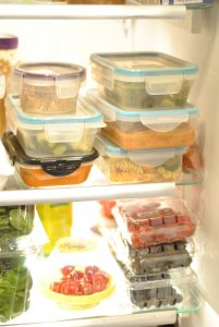 lunches in fridge