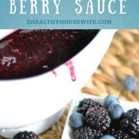 Z's Verry Berry sauce