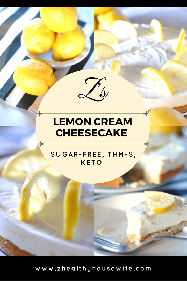Z's Lemon Cream Cheesecake