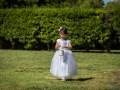 Aberville Estate Wedding - flower girl
