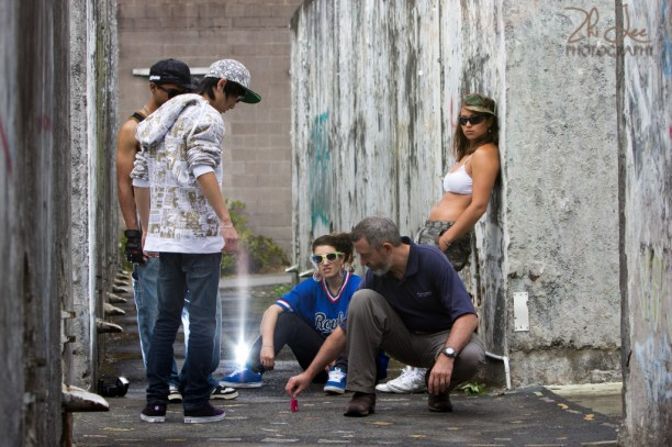 Corbans Estate Hip Hop Shoot Behind the Scenes