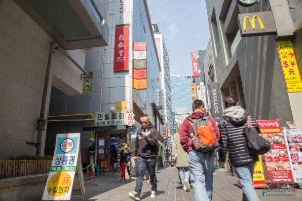Myeong Dong Shopping District