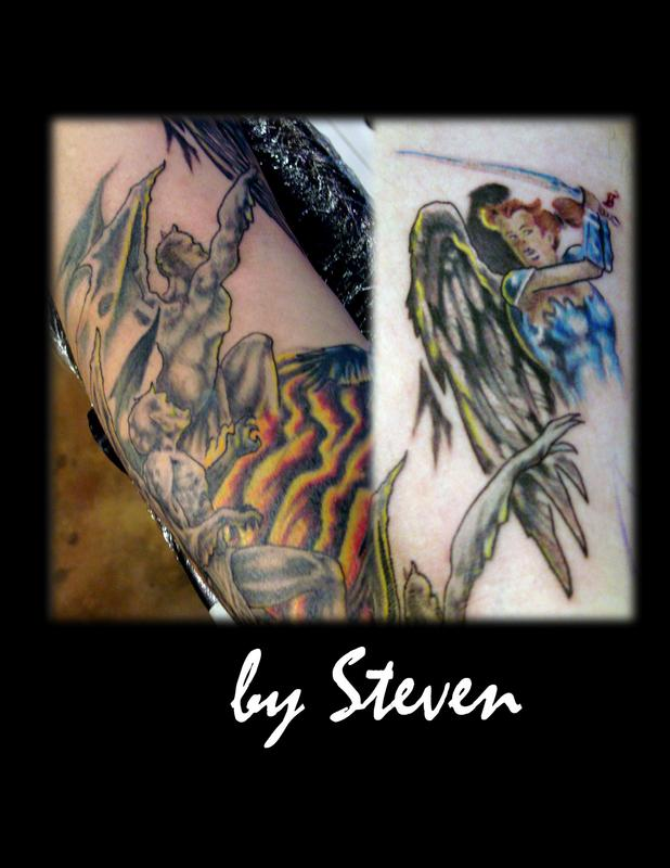 And Angels Shop Tattoo Demons