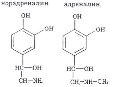 гормон норадреналин формула
