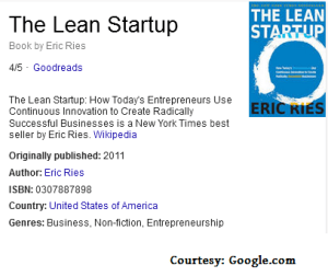 In a nutshell: The Lean Startup
