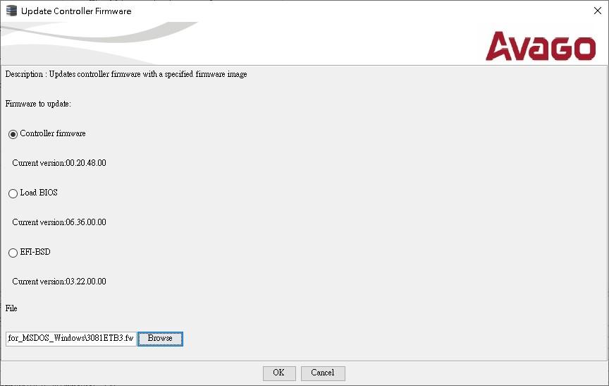 5.0_Serial_1A5E00_controller firmware_original_choose 3081ETB3.fw_chip is b3