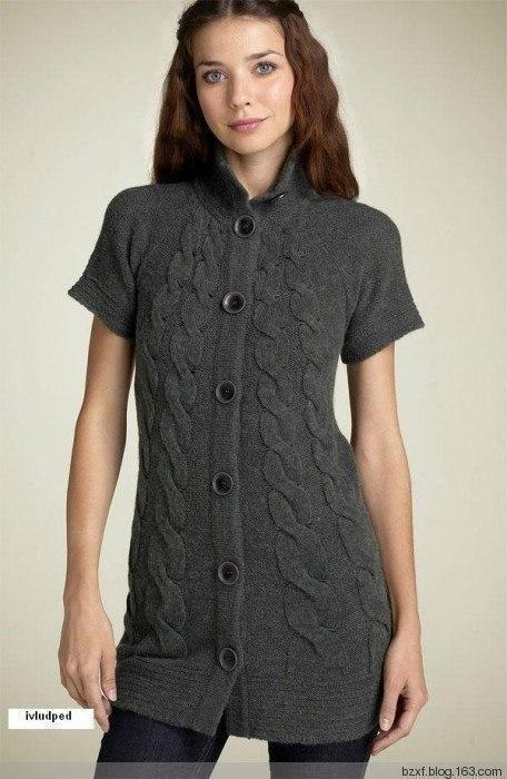 туника платье Mac Jac с осинки вязание спицами журнал