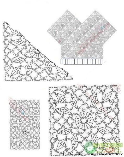 трикотажные тапочки крючком со схемами