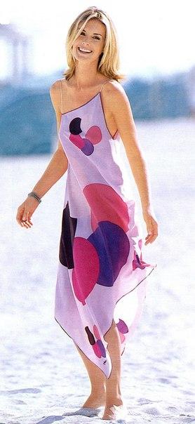 Шьём платье из платков - Легко и просто! (Шитье и крой)