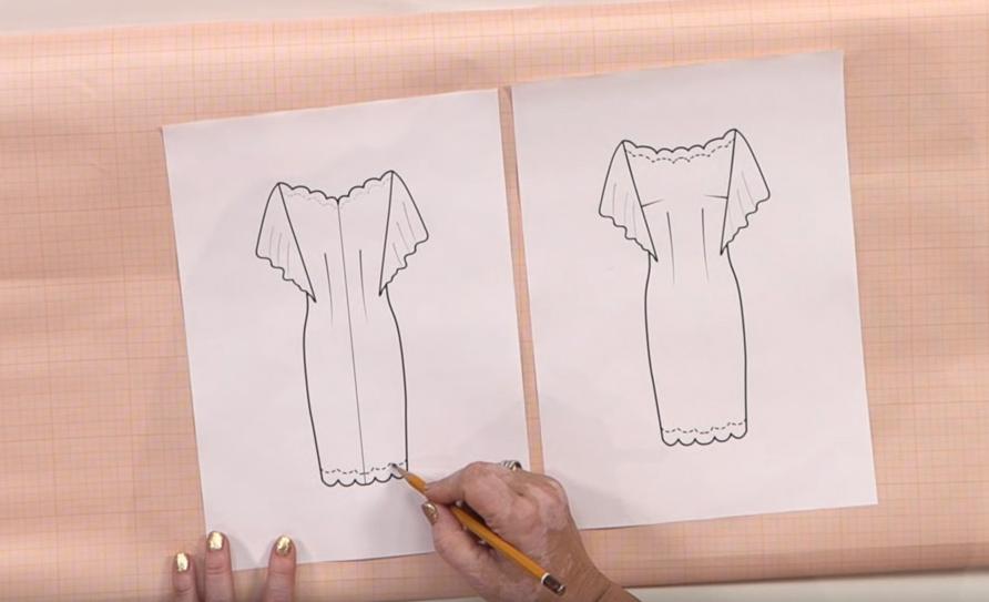 Как сшить праздничное новогоднее платье (Шитье и крой)