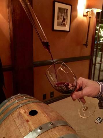 Wine Barrel Tasting Stonehaus