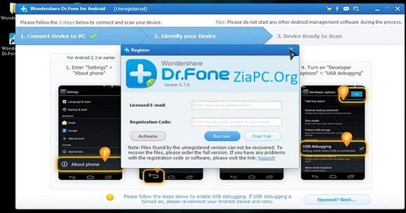 can i use dr fone for free