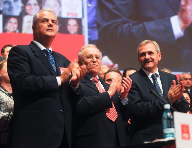 Adrian Nastase, Ion Iliescu, Liviu Dragnea