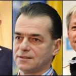 Dan Barna, Ludovic Orban, Dacian Ciolos, Romania