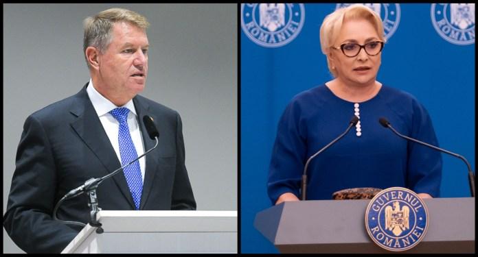Klaus Iohannis, Viorica Dancila, alegeri prezidentiale