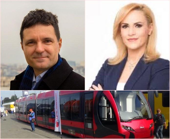 Nicusor Dan, Gabriela Firea, tramvaie turcesti