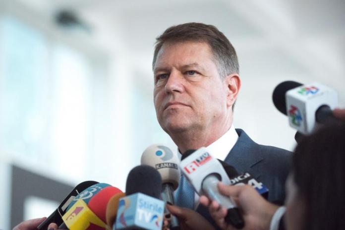 Klaus Iohannis, presedinte Romania