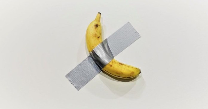 Banana, opera de arta