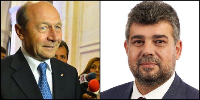 Traian Basescu, Marcel Ciolacu, PSD