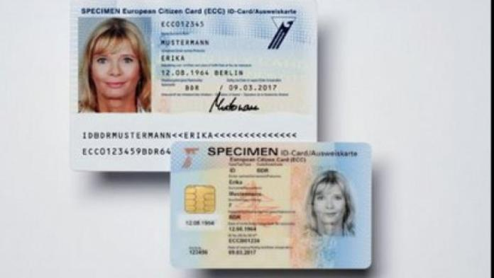 Card electronic de identitate