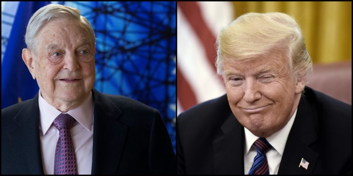 George Soros, Donald Trump