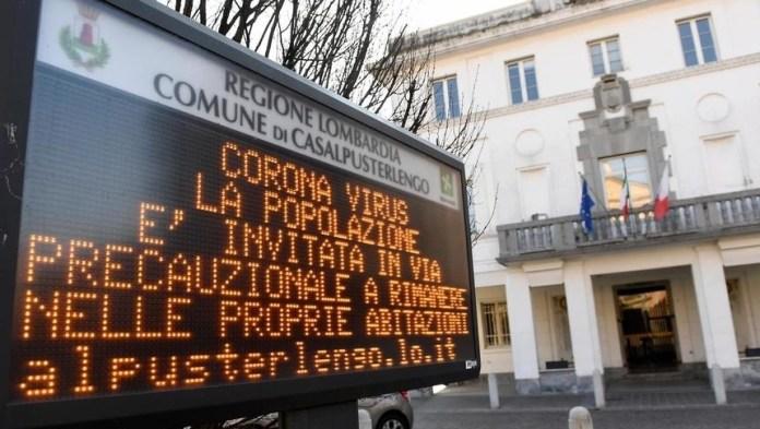 Coronavirus, Italia