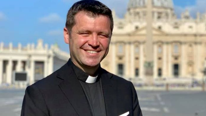 Părintele Francisc Doboș - fostul purtător de cuvânt al Arhiepiscopiei Romano-Catolice București