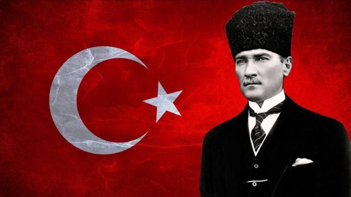 Mustafa Kemal Ataturk - primul președinte al Republicii Turcia și fondatorul Turciei moderne