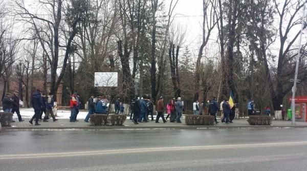 pensionari la protest