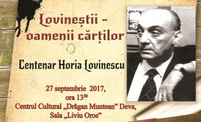 Centenar Eugen Lovinescu la Biblioteca județeană din Deva