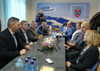 Petroșani-Varpalota, parteneri în Europa și în 2020