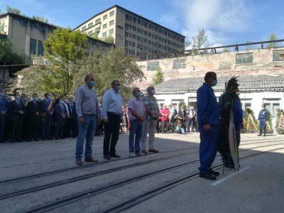 Reprezentanții Apa Serv, respect pentru minerii Văii Jiului
