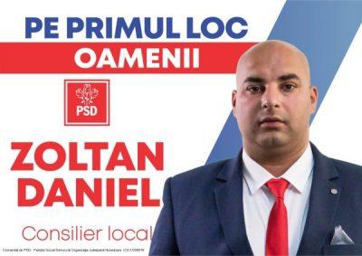 Profil de candidat al PSD Lupeni pentru Consiliul local: ZOLTAN DANIEL