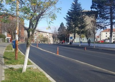 La Lupeni se va circula pe 4 benzi pe bulevardele principale ale municipiului